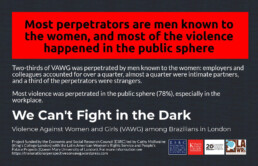LAWRS Latin American Women's Rights Service Supporters We Can't Fight In The Dark