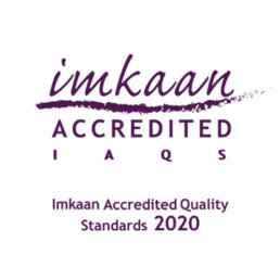 LAWRS Latin American Women's Rights Service Imkaan Accredited Logo